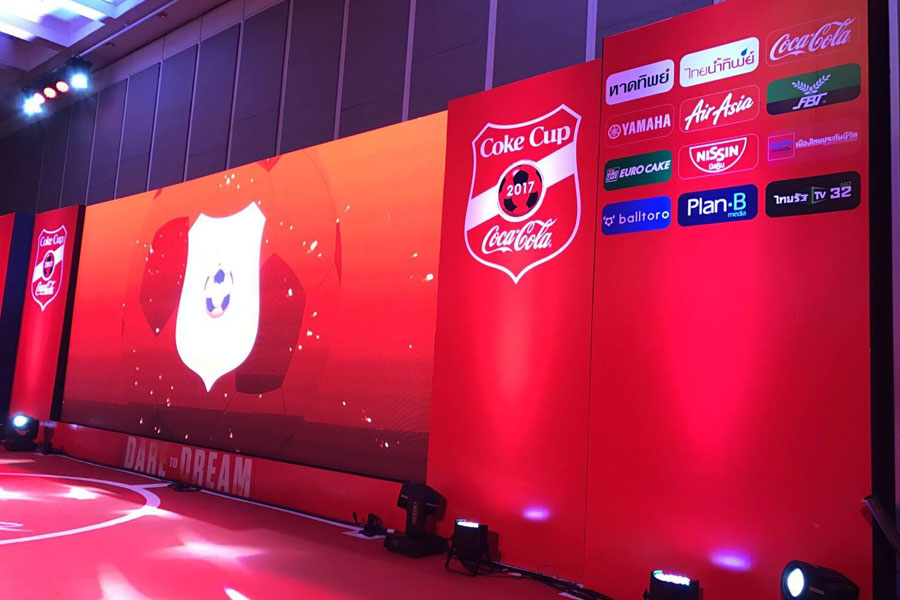 AppRegist กับงาน Press conferrence Coke Cup 2017 U-19 THAILANCE CHAMPIONSHIP